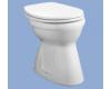 ALFÖLDI 4037 Bázis laposöblítésű alsó kifolyású WC, fehér